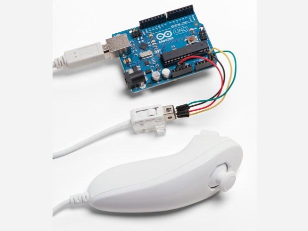 Wii Nunchuk Mouse