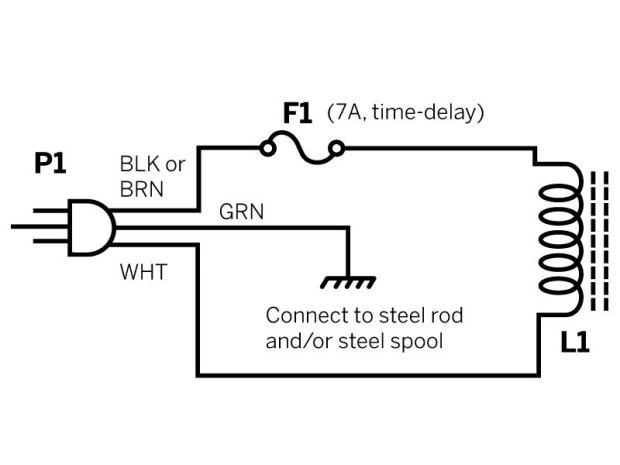 Electromagnetic Aluminum Levitator