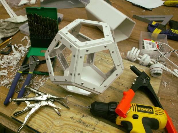 Dodecahedron Lamp