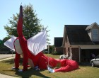 20ft-tall, 40ft-long, Fire-Breathing Dragon!