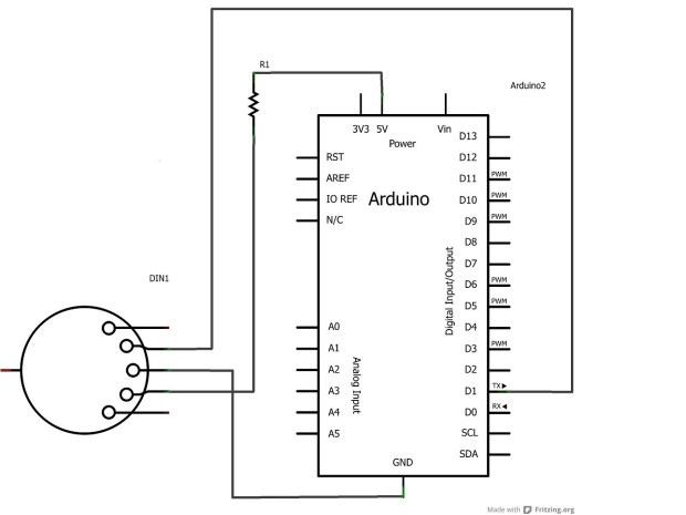 Electronic MIDI Wind instrument