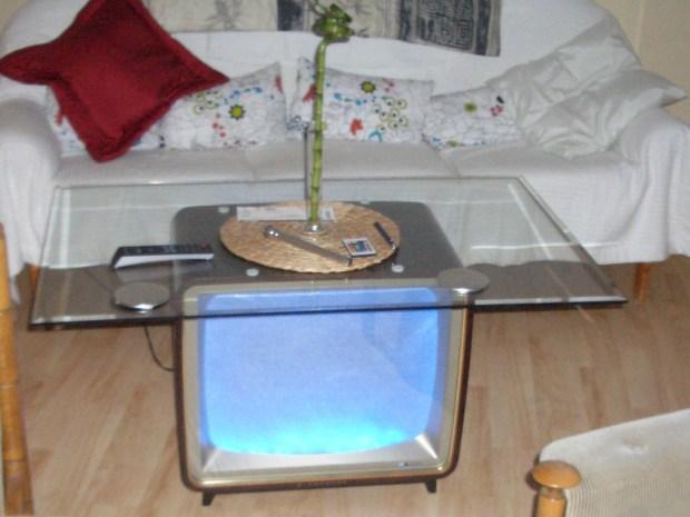 Vintage TV Coffee Table