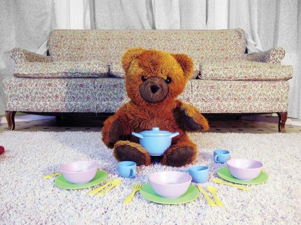 Charlie's RFID Teddy Bear