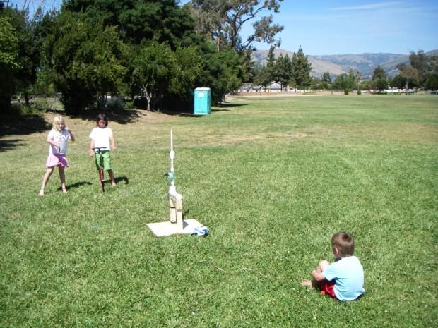 Compressed Air Rocket