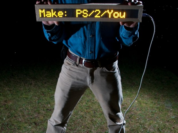 PS/2/You LED Sign