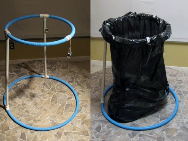 Collapsible Trash Bag Frame