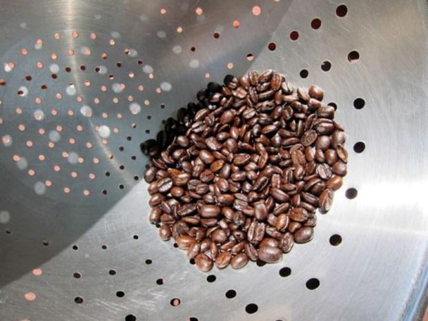 Roast Coffee with a Popcorn Popper