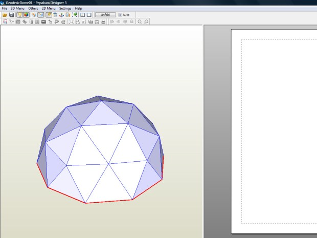 Paper Items with SketchUp and Pepakura