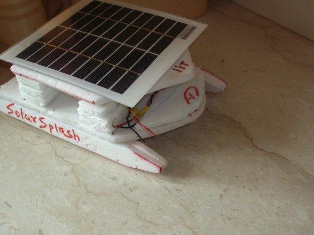 Solar-Powered Boat Prototype