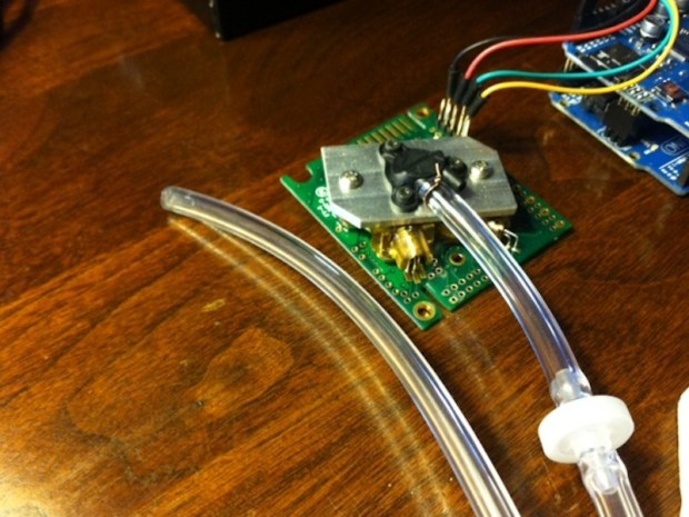 Making a CO2/GPS logger powered by a bike dynamo