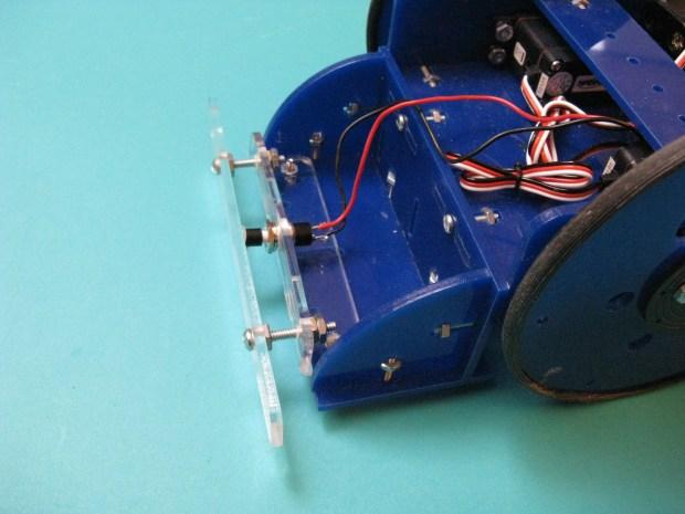 Bump Sensor for the Tiny Wanderer