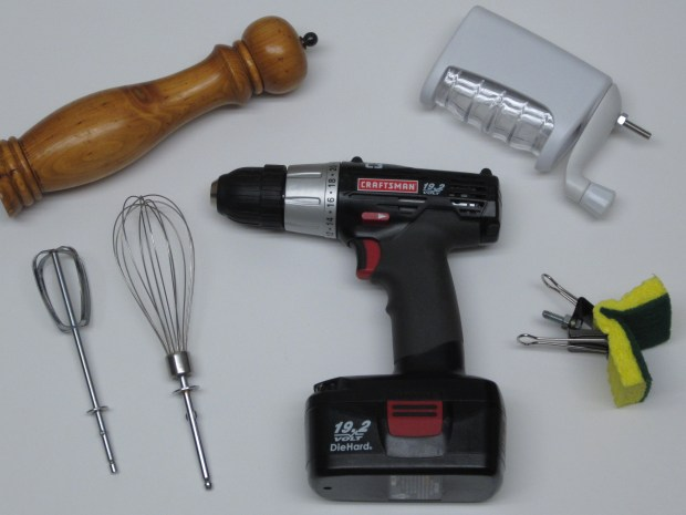 Making Cooking More Fun by Adding Power Tools