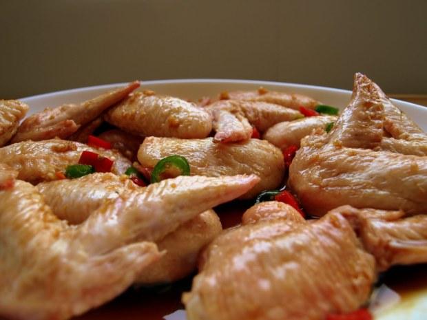 Bourbon Chicken Wings