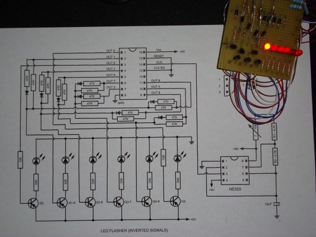 LED Shift Register