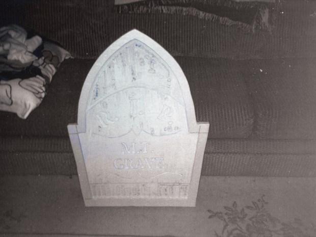 Grave Situation — Make Styrofoam Tombstones