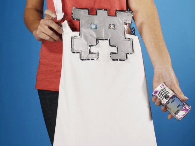 Space Invaders Tote