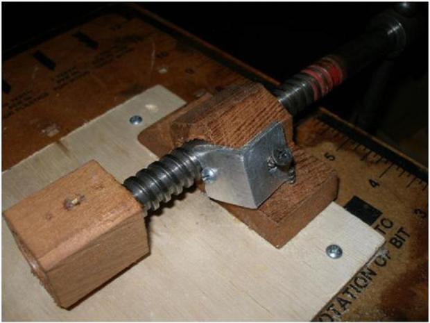 Wooden Lead Screws