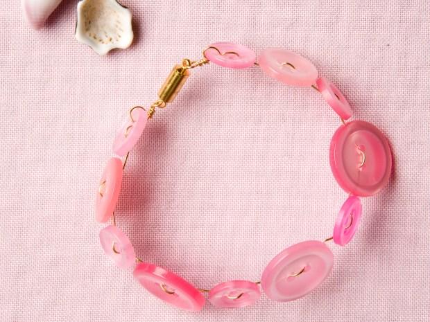 Cute as a Button Bracelet