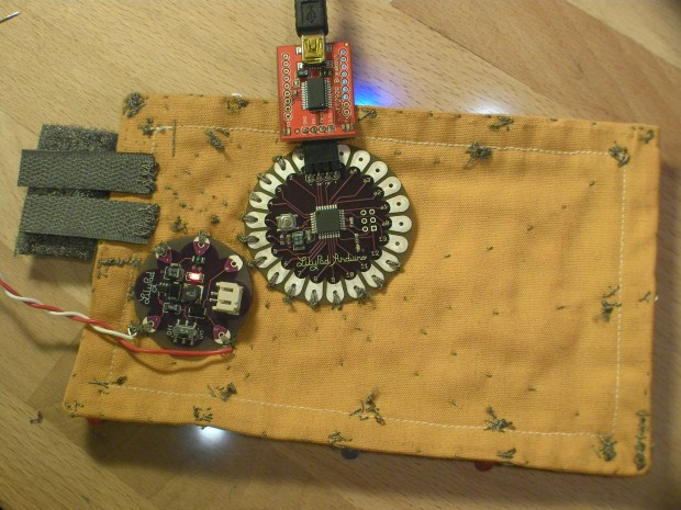 Arduino Blinking Bike Patch