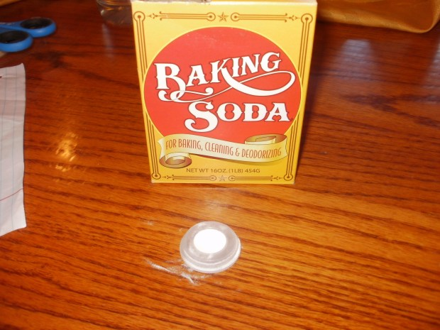 Vinegar and Baking Soda Rocket