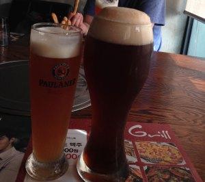 大邱でドイツビール