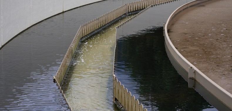 下水処理場の画像
