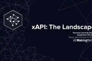 xAPI: The Landscape