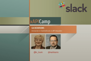 Slack EduRooms by Myra Travin and Mark Sheppard