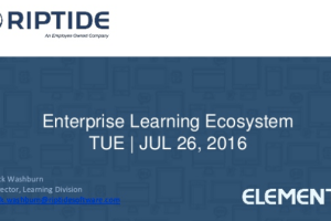 Enterprise Learning Ecosystem by Nick Washburn