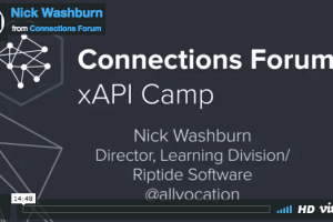 Custom xAPI Implementation and Reporting by Nick Washburn