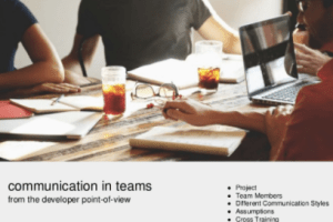 Communication in Development Teams by Rob Christie