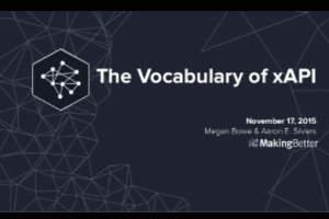 The Vocabulary of xAPI by Aaron Silvers