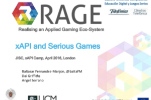 xAPI in Applied Gaming by Baltasar Fernandez-Manjon