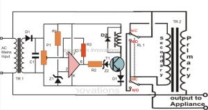 Simplest Mains Voltage Stabilizer Circuit