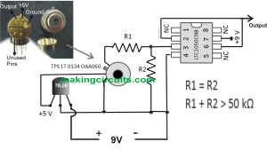 Simple Infrared Thermopile Sensor Circuit Explained