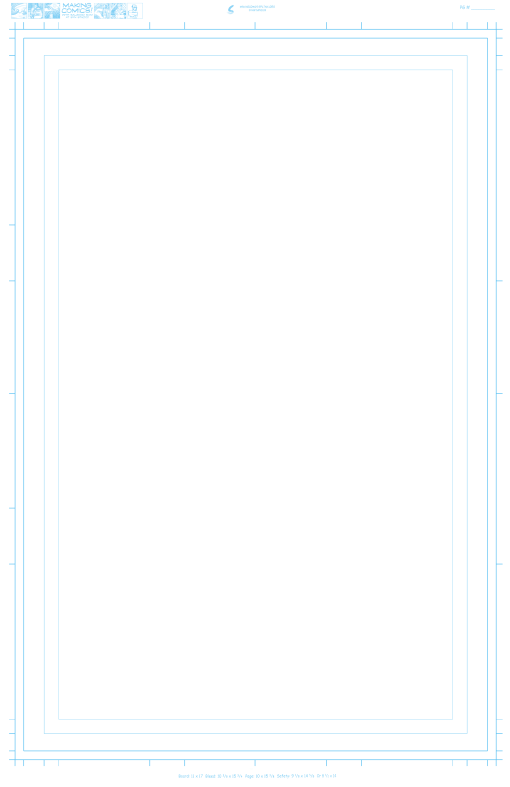 Making Comics PG template