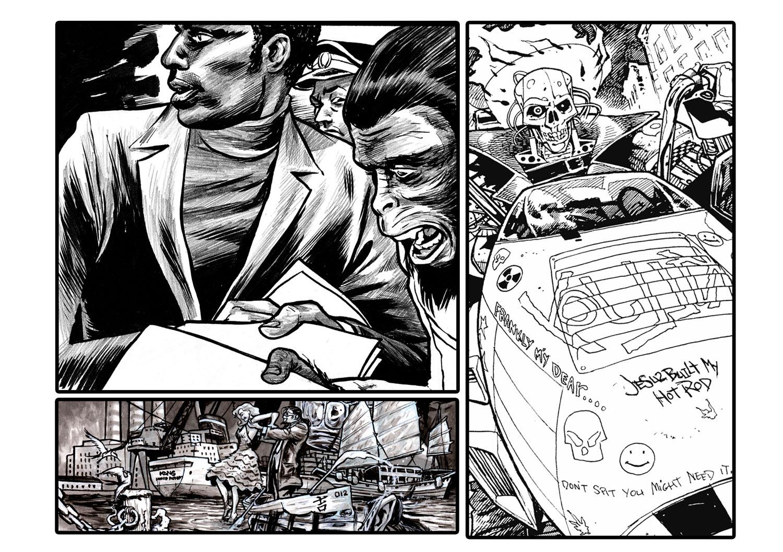 Transitions Making Comics