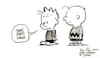 After Bill Watterson & Charles Schulz