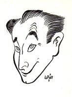 Lawrence Lariar self portrait
