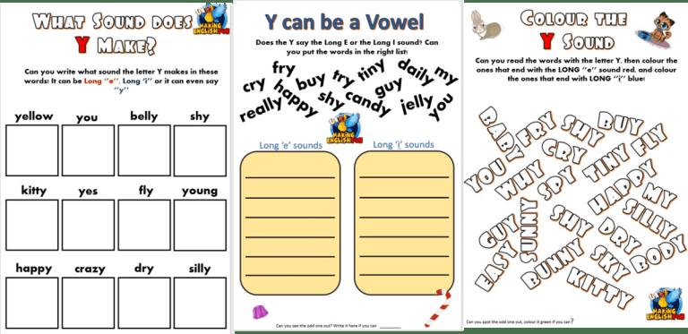 Teaching Y as a Vowel!