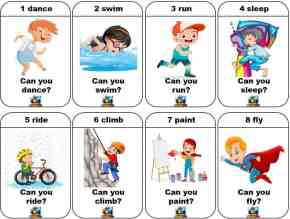 Action Verb Cards