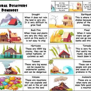 Natural Disaster Activity for ESL