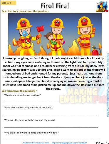FREE Grade 5 Reading Comprehension