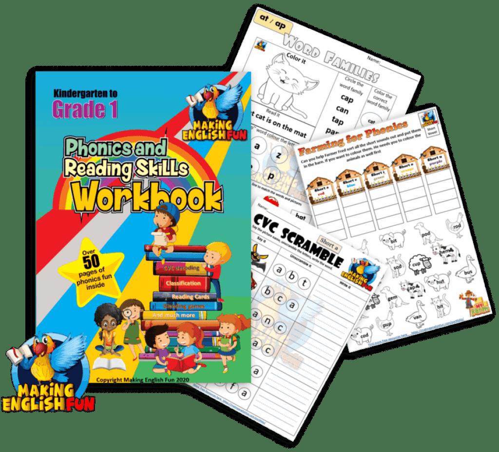 Phonics and reading skills Workbook