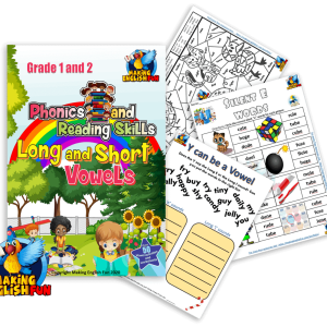 Long and Short Vowels Workbook