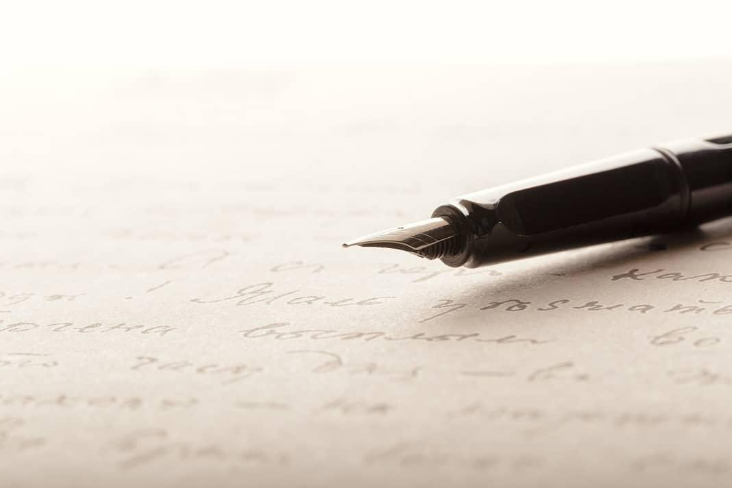 how to write cursive writing