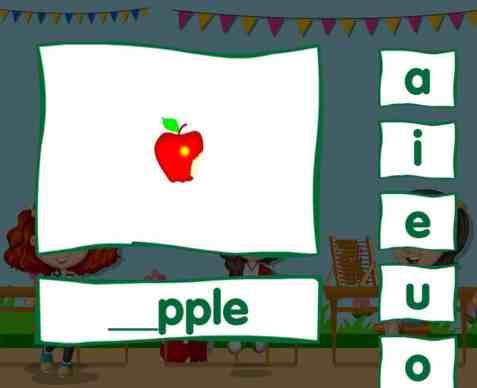 Short vowel free online games