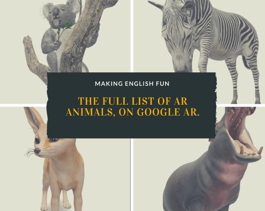 Animal AR on Google