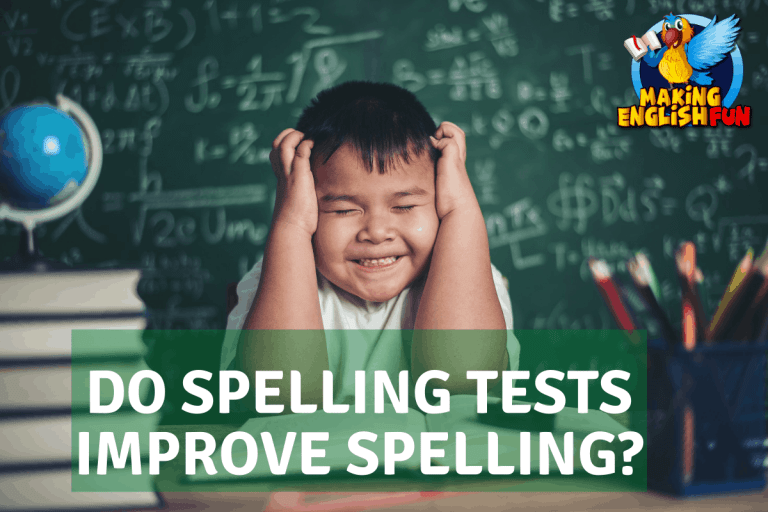 Do Spelling Tests Improve Spelling? ( and Alternatives)