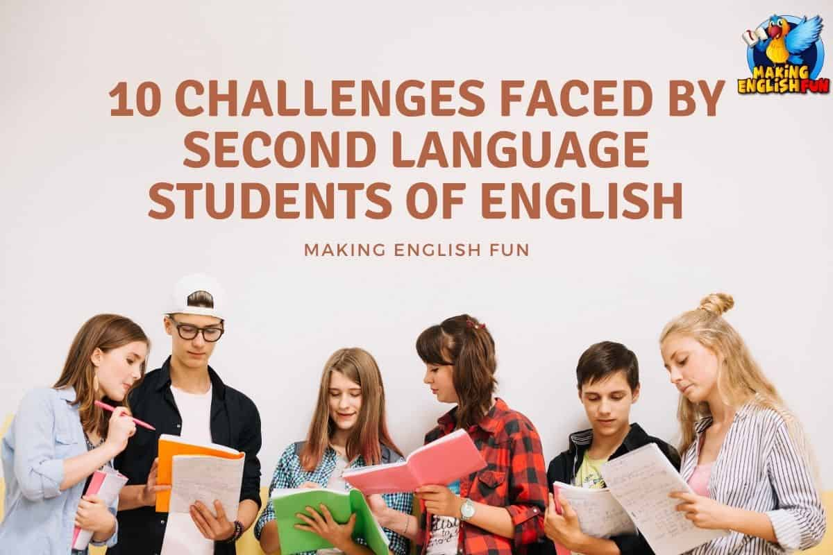 Challenges for second language learners